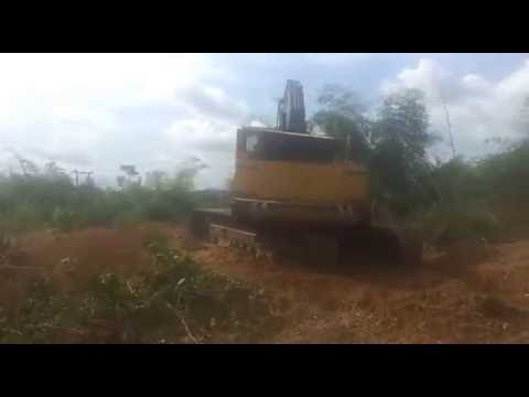 Åkerman H14 BHD  In Ghana gold mine