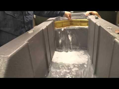 Fenelon Falls Lift Lock Model - Video 3