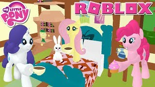 Pinkie Pie! Roblox: Roleplay is Magic - My Little Pony 3D Roleplay ~ Taking Care Of Sick Flutter Shy