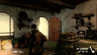 Sniper Elite 3 mission 1- Gameplay  ULTRA GRAPHICS