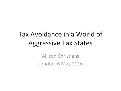 Tax Avoidance in a World of Aggressive Tax States