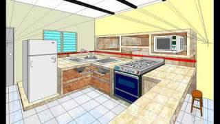 Cocina Dibujo