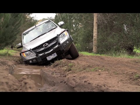 Mazda BT-50 Ute - How To use the Diff Lock