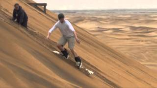 Sand Boarding Namibia 2015 Part 1