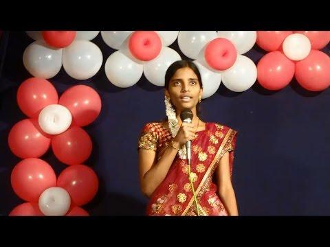 Noothana Parachumu Deva song by Sirisha (నూతన పరచుము దేవా ... )