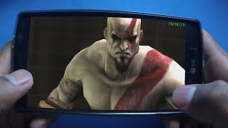 Gameplay God of War - Ghost of Sparta Android - ppsspp 2016