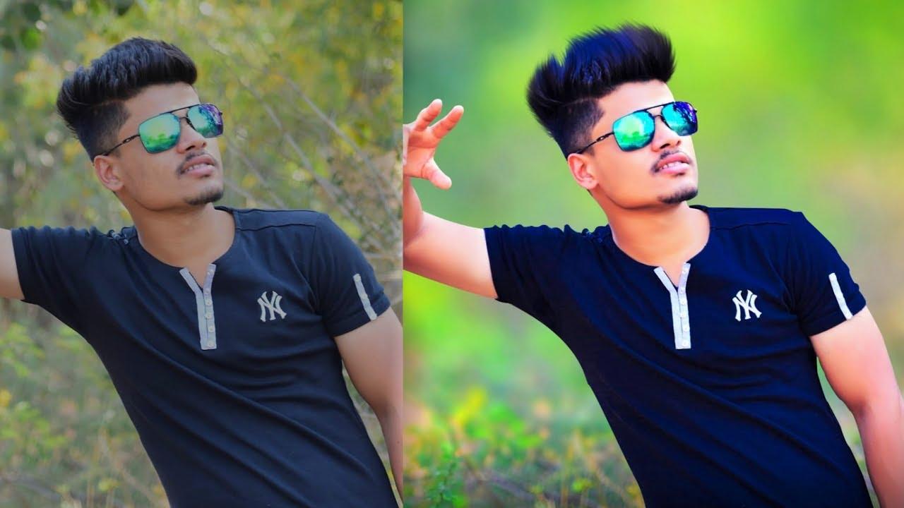 How To Blur Photo Background Like Dslr Picsart Tutorial Edit Like Cb Edits Youtube