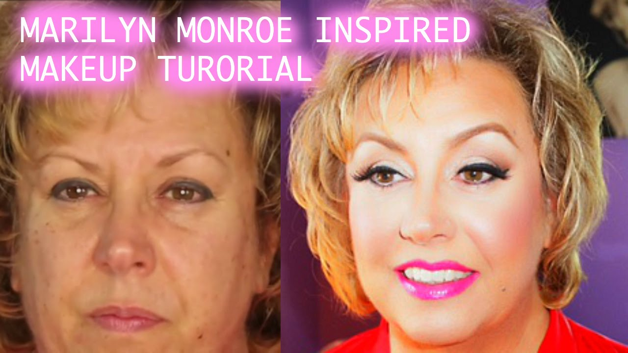 Marilyn inspired makeup tutorial on mature skin youtube baditri Images