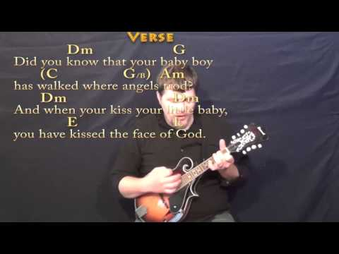 Mary Did You Know - Mandolin Cover Lesson in Am with Chords/Lyrics ...