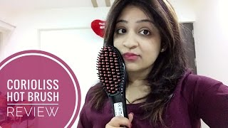 CORIOLISS HOT BRUSH : Does this thing really works? |Everyday manageable hair|Pragati Bhatia