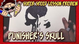 Lesson Preview: How to Draw THE PUNISHER