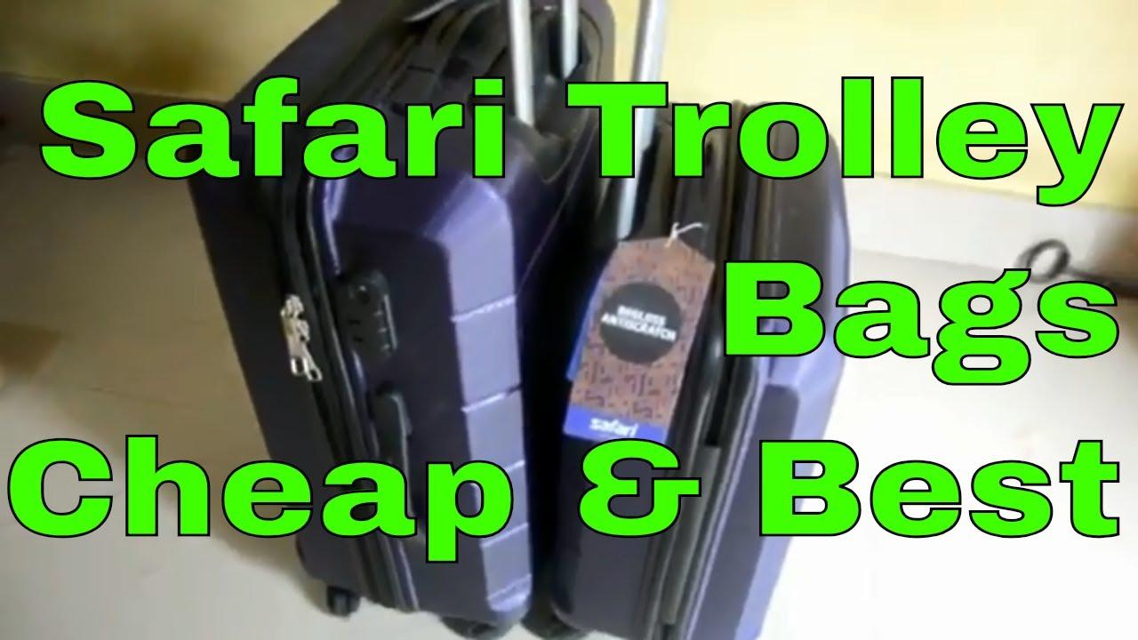 da85bc15e0 Unboxing Safari Re-Gloss Anti Scratch Purple Set of 2 Small