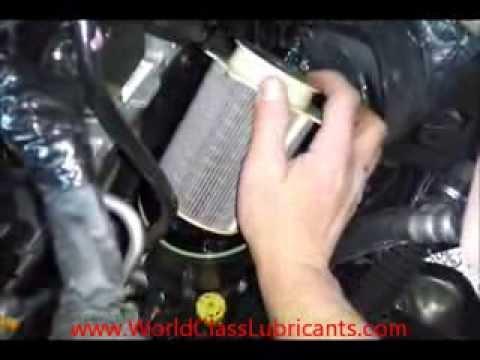 Cummins Fuel Filter Change - YouTube
