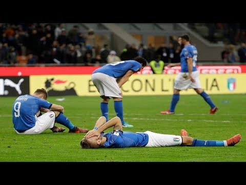 Italy Misses World Cup as Sweden Wins Playoff