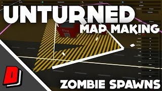 Unturned Map Making - HOW TO ADD ZOMBIE SPAWNS!!