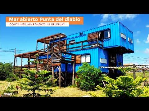 Mar abierto Punta del diablo Container Apartments in Uruguay