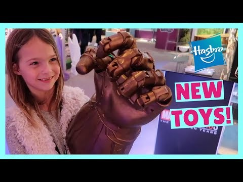A 90 Second Tour of Hasbro's 2018 Toy Fair Showroom !!!