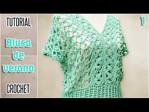 e01fb0ed9 DIY Blusa para mujer, todos los talles - Tutorial paso a paso (1 de ...