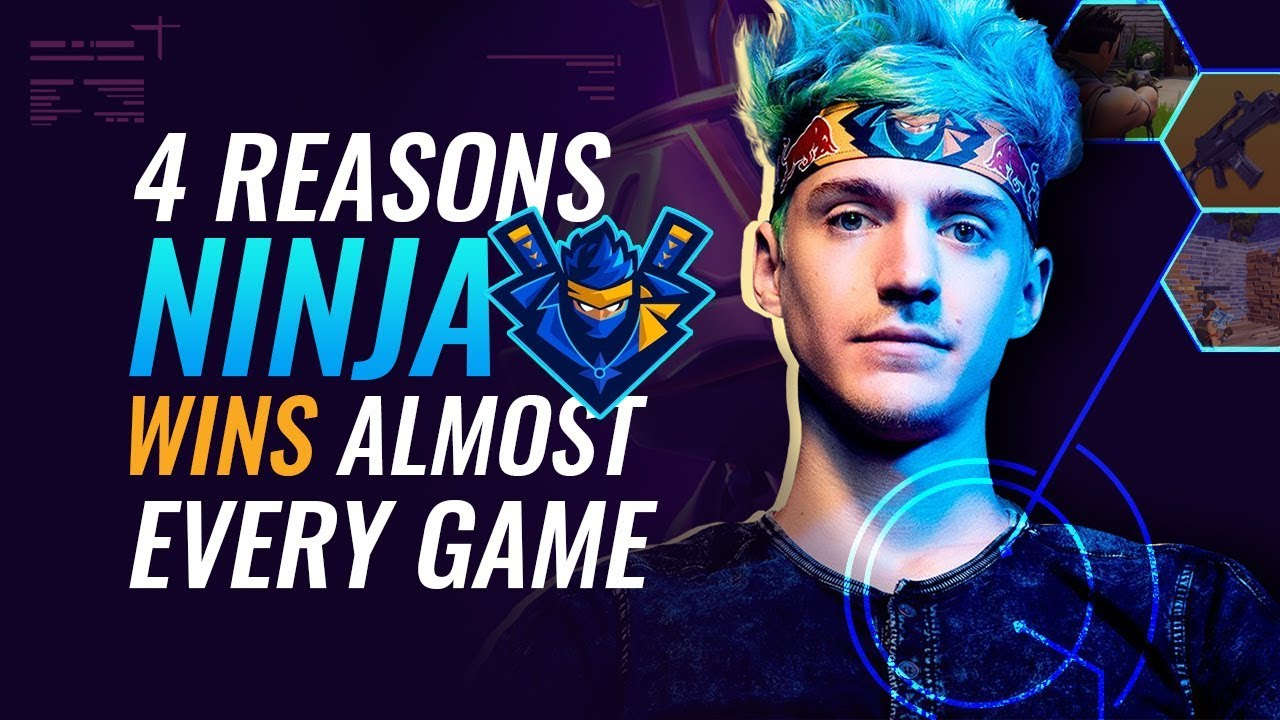 4 Gründe, warum Ninja fast jedes Spiel gewinnt + video