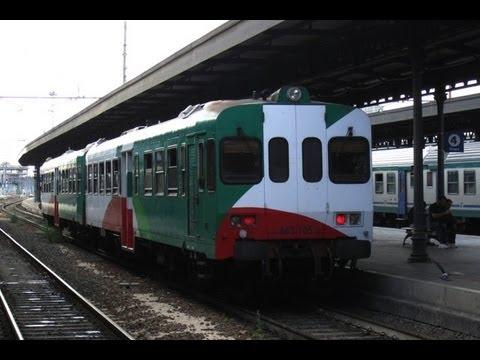 Italien, Mitfahrt Zug - Rimini, Ravenna, Cesenatico, Gatteo a Mare - HD