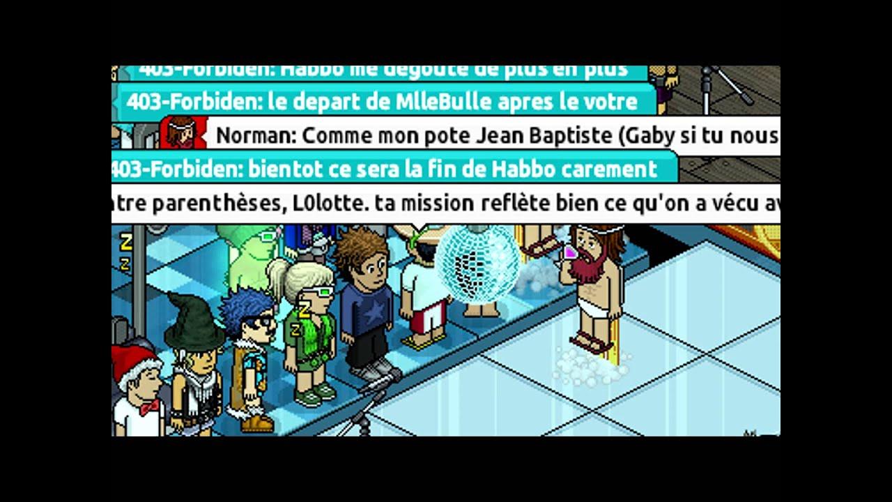 Habbo.fr Dernier Meeting Du 05/12/2012