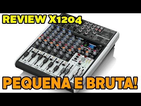 REVIEW CONSOLE BEHRINGER X1204USB