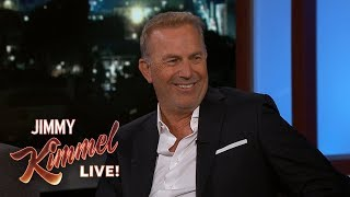 Zapętlaj Kevin Costner Reveals Mickey Mantle's Surprising Reaction to Bull Durham | Jimmy Kimmel Live
