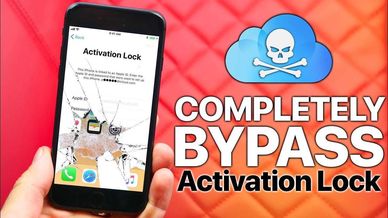 activation lock unlock with passcode bypass