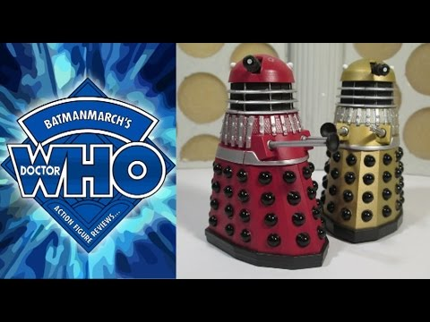 Doctor Who Action Figure Review: Children of the Revolution - Dalek Set #1