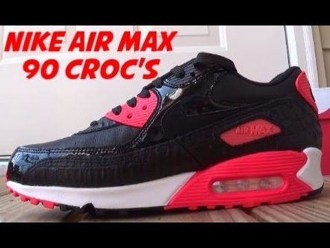 nike air max black croc infrared reviews