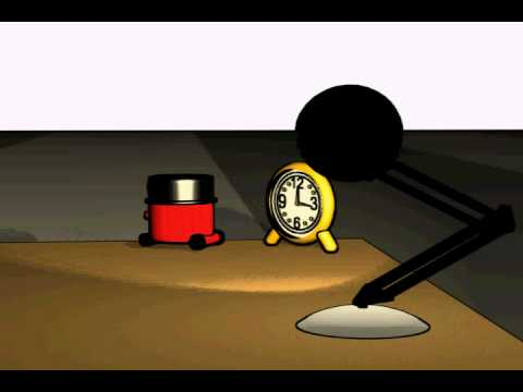 Henry Hoover & Luxo Jr Animation