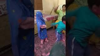 2 year old pragya dancing in saree