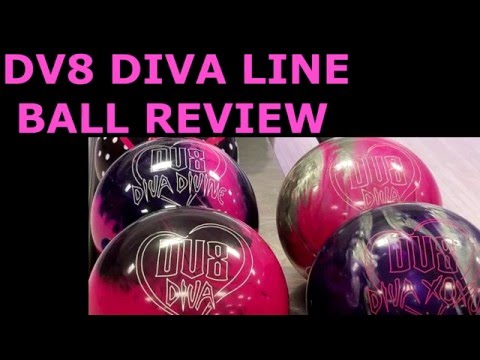 DV8 Diva, Diva Pearl, Diva Divine, and Diva XOXO Bowling Ball Review