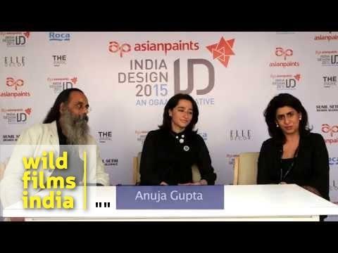 Anuja Gupta, the founder of 'Apartment 9' speaks at India Design 2015