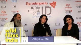 Anuja Gupta, the founder of 'Apartment 9' speaks at India Design 2015