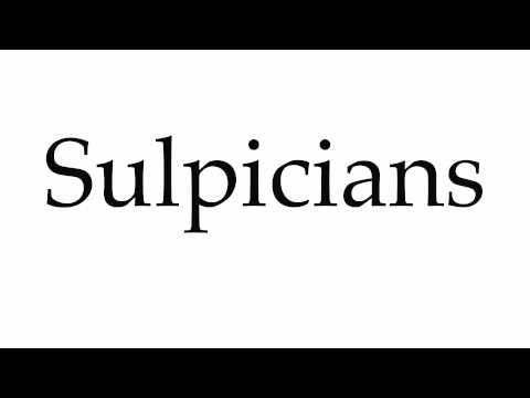 How to Pronounce Sulpicians