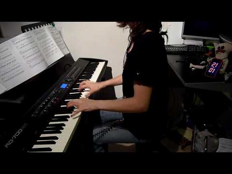 Muse - Butterflies & Hurricanes - piano cover [HD]