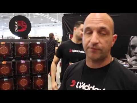 D'Addario at Summer NAMM 2016