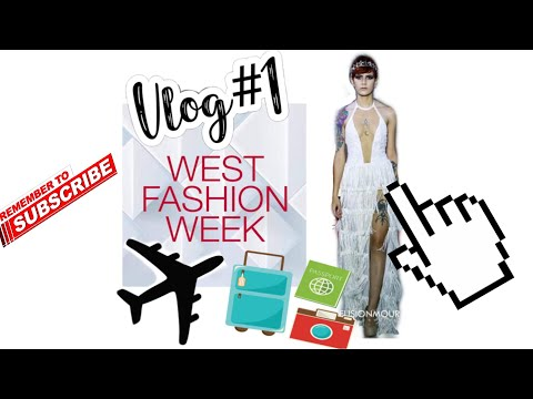 Vblog #1BYE BYE PUERTO RICO WELCOME TO MILWAUKEE | WEST FASHION WEEK