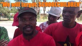 Stilfontein - New norm in South Africa Targeting SCHOOLCHILDREN in terror