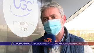 Yvelines | Le nouveau cinéma UGC Plaisir devrait être prêt à ouvrir d'ici fin mars