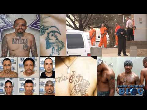 Barrio Azteca Prison Gang Hisotry (El Paso, Texas)