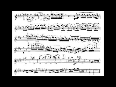 Kreutzer, Rudolphe 18 th violin concerto