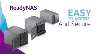 NETGEAR Storage Made Easy with ReadyNAS