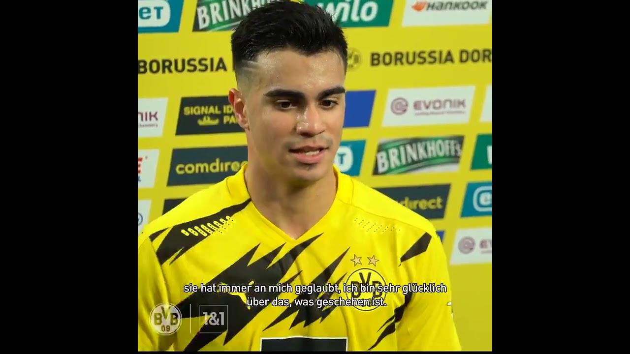 @ReinierJesus20 Ich bin sehr froh über die Unterstützung, die ich von der Borussia bekommen habe