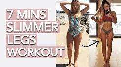 Slim Legs Workout (7 Minutes)