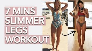 Slim Legs Workout (7 Minutes)