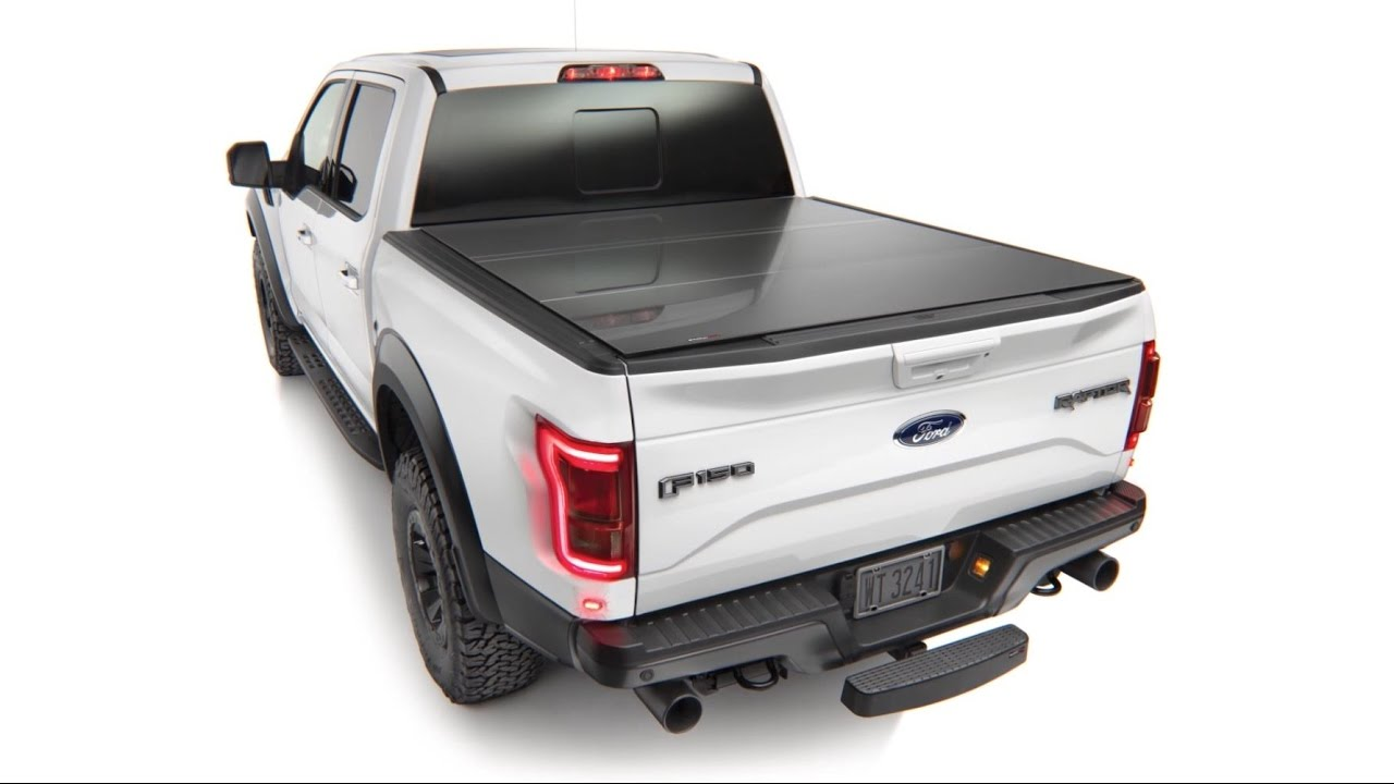 weathertech alloycover - hard tri-fold pickup truck bed cover