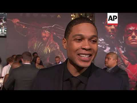 Newcomer Ray Fisher relishes 'momentous' 'Justice League' premiere, talks Cyborg future