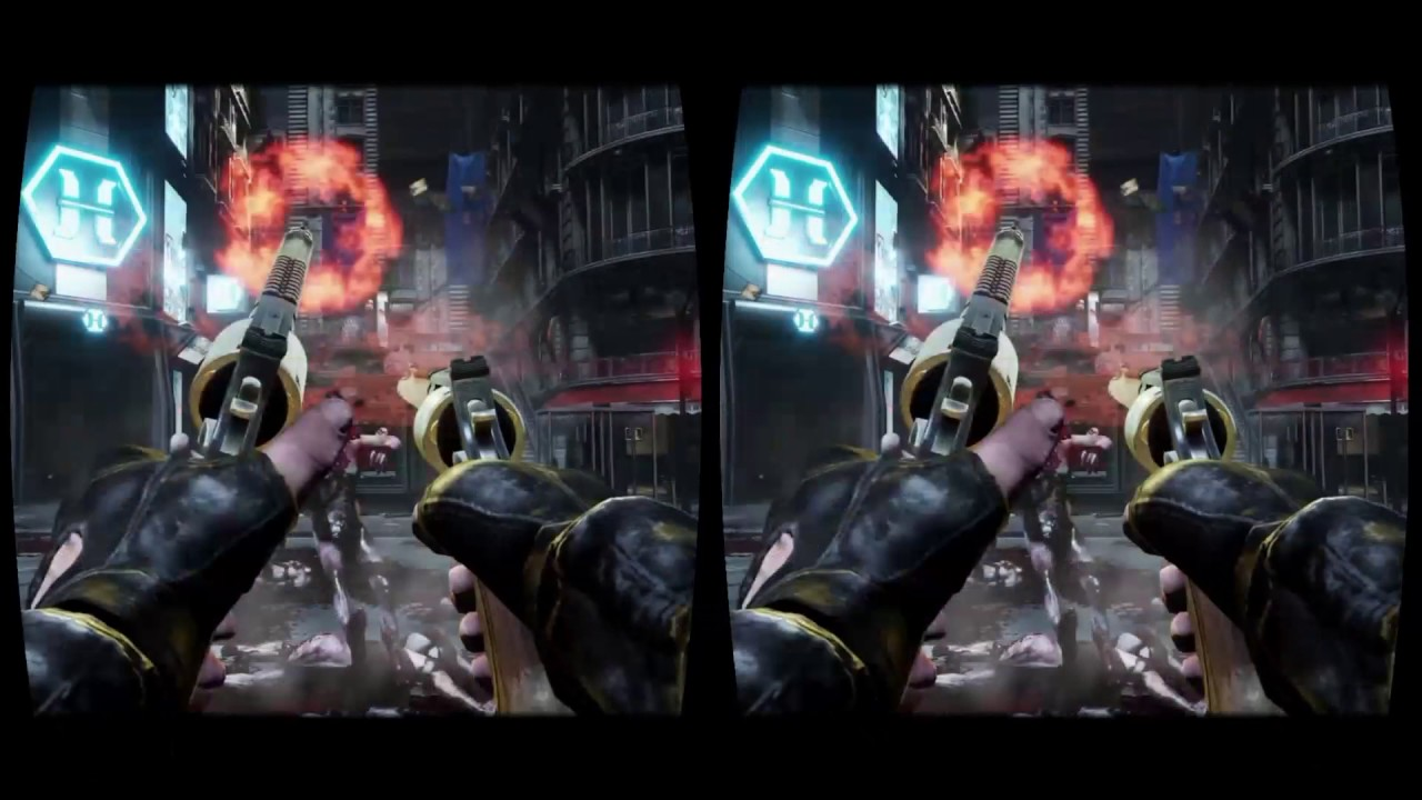 Killing Floor 2 epic VR gameplay in playstation VR Project ...